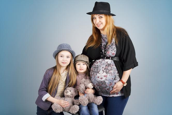 Фотосъемка беременной с ребенком