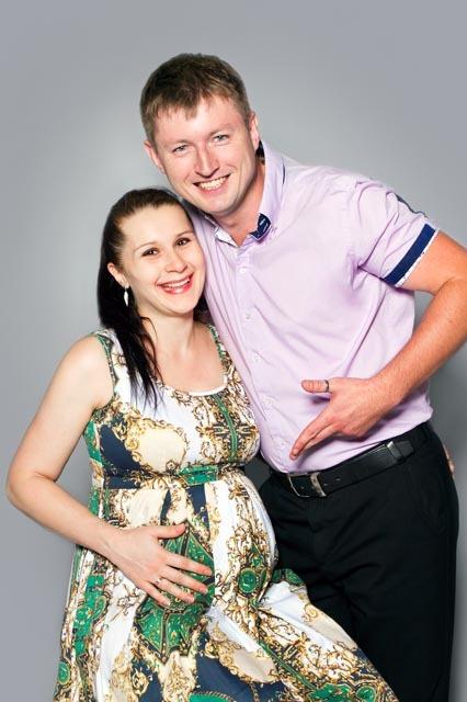 Фотосессия беременной с мужем в Ростове
