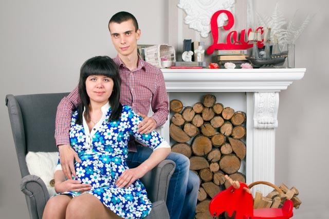 Фотосессия беременной с мужем Ростов-на-Дону
